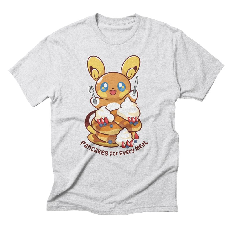 Pancakes For Every Meal Men's T-Shirt by ZombieMiki's Shirts & Stuff
