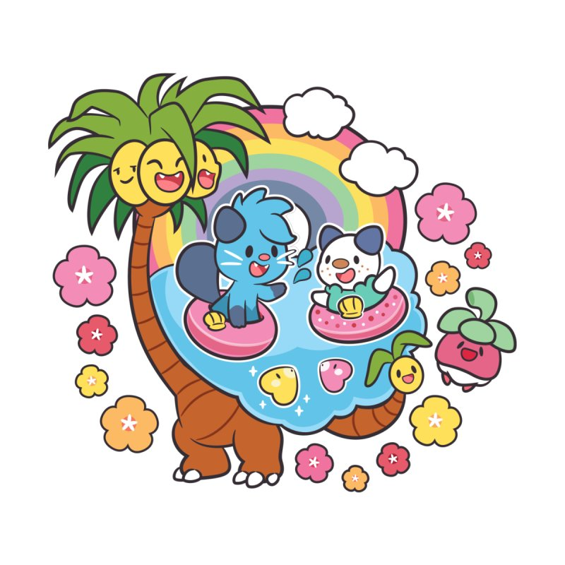 Tropical Vacation   by ZombieMiki's Shirts & Stuff