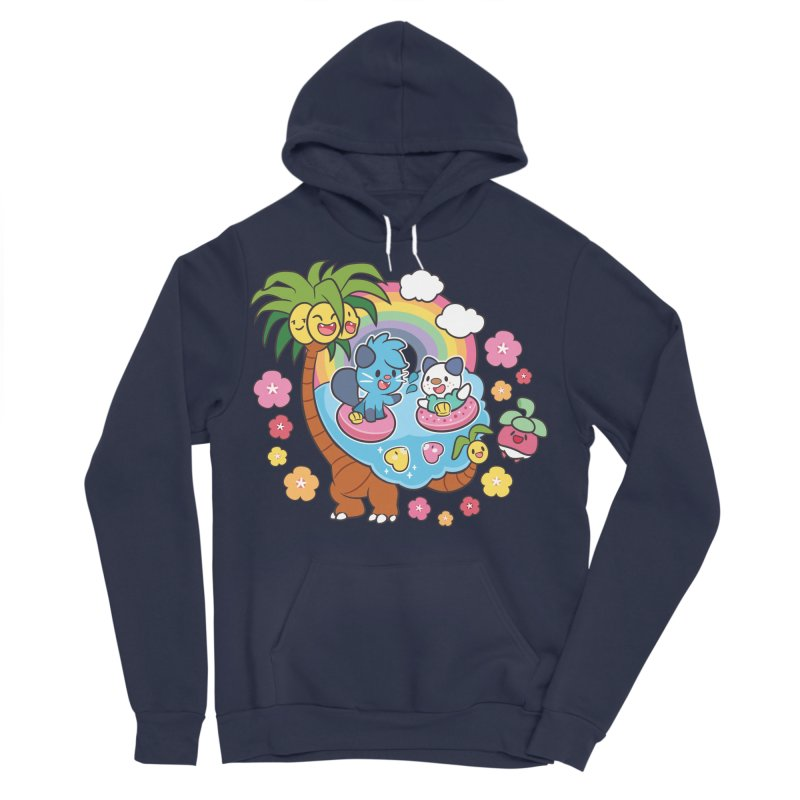 Tropical Vacation Women's Sponge Fleece Pullover Hoody by ZombieMiki's Shirts & Stuff