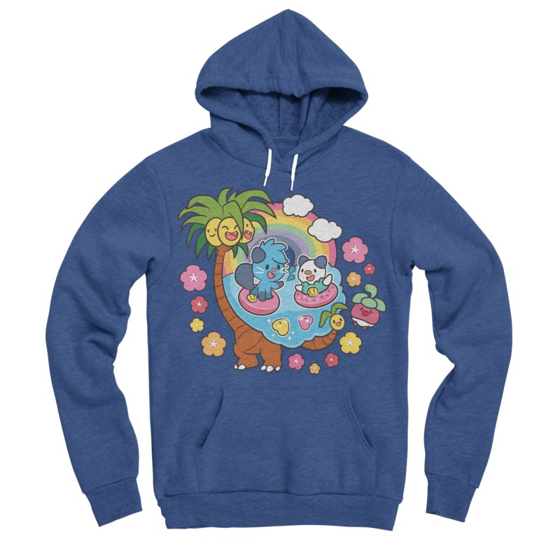 Tropical Vacation Men's Sponge Fleece Pullover Hoody by ZombieMiki's Shirts & Stuff