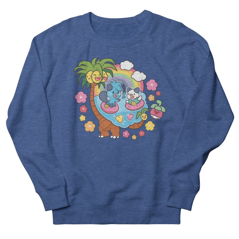 Tropical Vacation Men's Sweatshirt by ZombieMiki's Shirts & Stuff