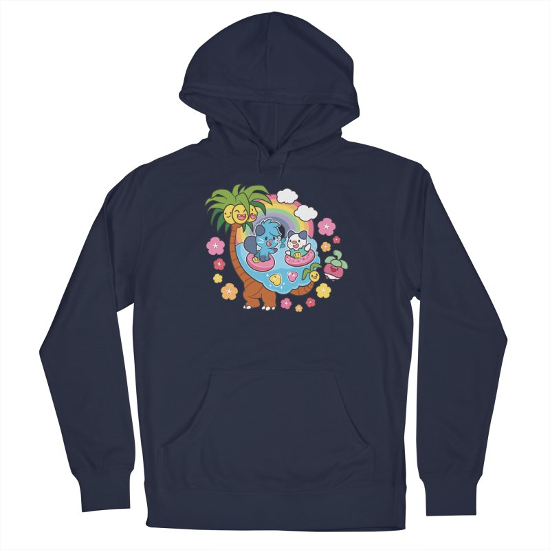 Tropical Vacation Men's Pullover Hoody by ZombieMiki's Shirts & Stuff