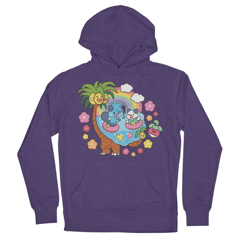 Tropical Vacation Women's French Terry Pullover Hoody by ZombieMiki's Shirts & Stuff