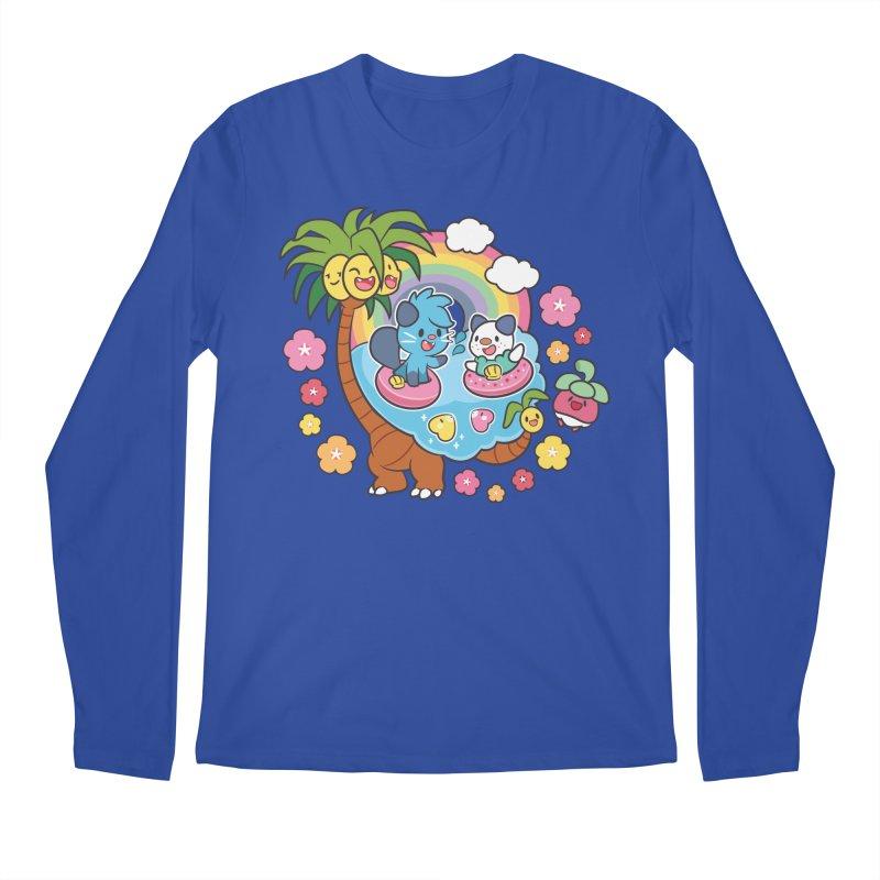 Tropical Vacation Men's Regular Longsleeve T-Shirt by ZombieMiki's Shirts & Stuff