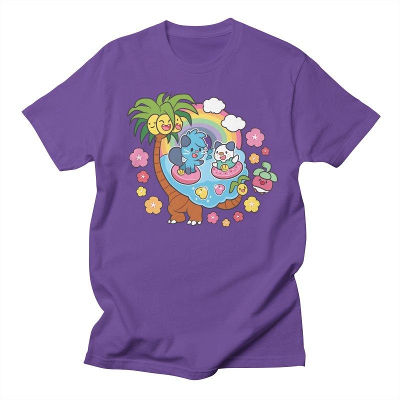Tropical Vacation Men's Regular T-Shirt by ZombieMiki's Shirts & Stuff