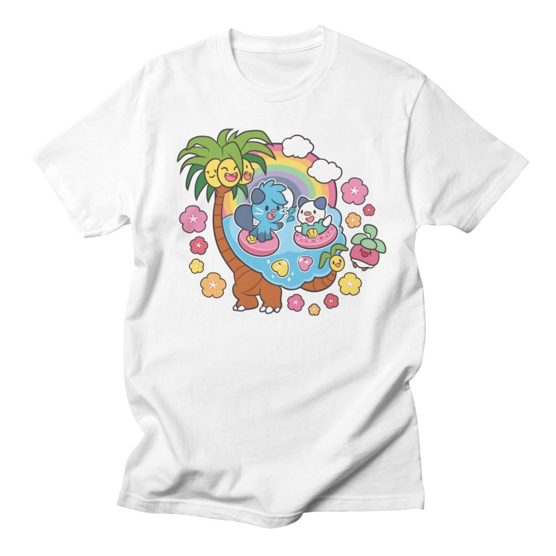 Tropical Vacation Men's Regular T-Shirt by ZombieMiki's Shirts & Stuff