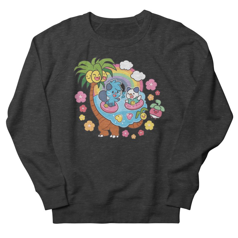 Tropical Vacation Women's French Terry Sweatshirt by ZombieMiki's Shirts & Stuff