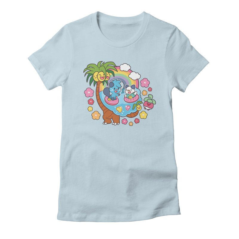 Tropical Vacation Women's T-Shirt by ZombieMiki's Shirts & Stuff
