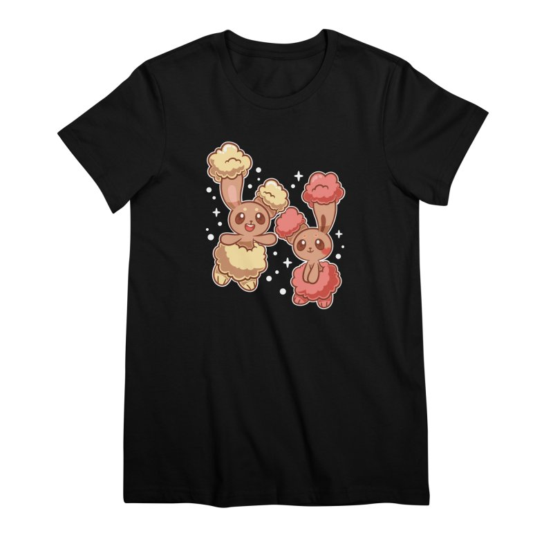 Bunny Buds Women's Premium T-Shirt by ZombieMiki's Shirts & Stuff