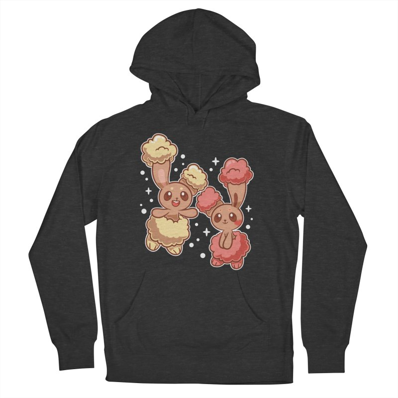 Bunny Buds Men's French Terry Pullover Hoody by ZombieMiki's Shirts & Stuff