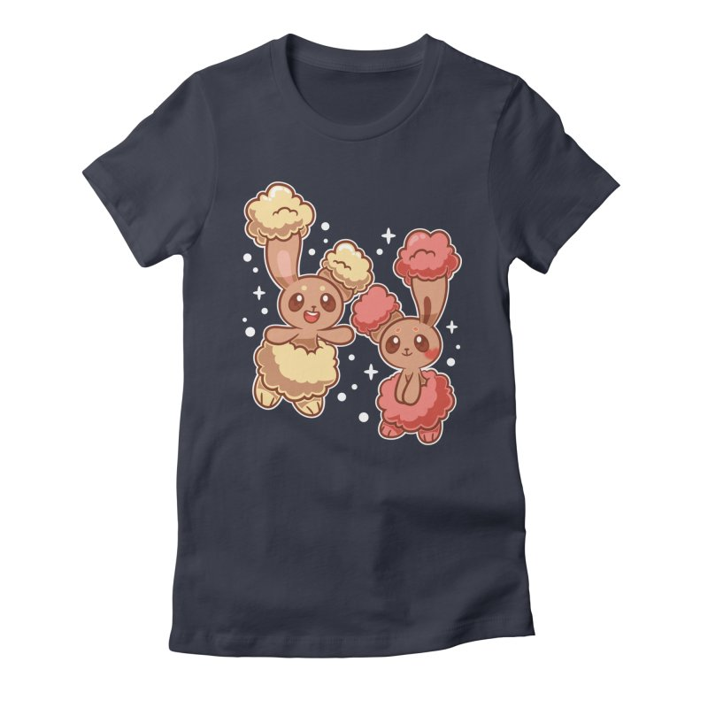 Bunny Buds Women's Fitted T-Shirt by ZombieMiki's Shirts & Stuff