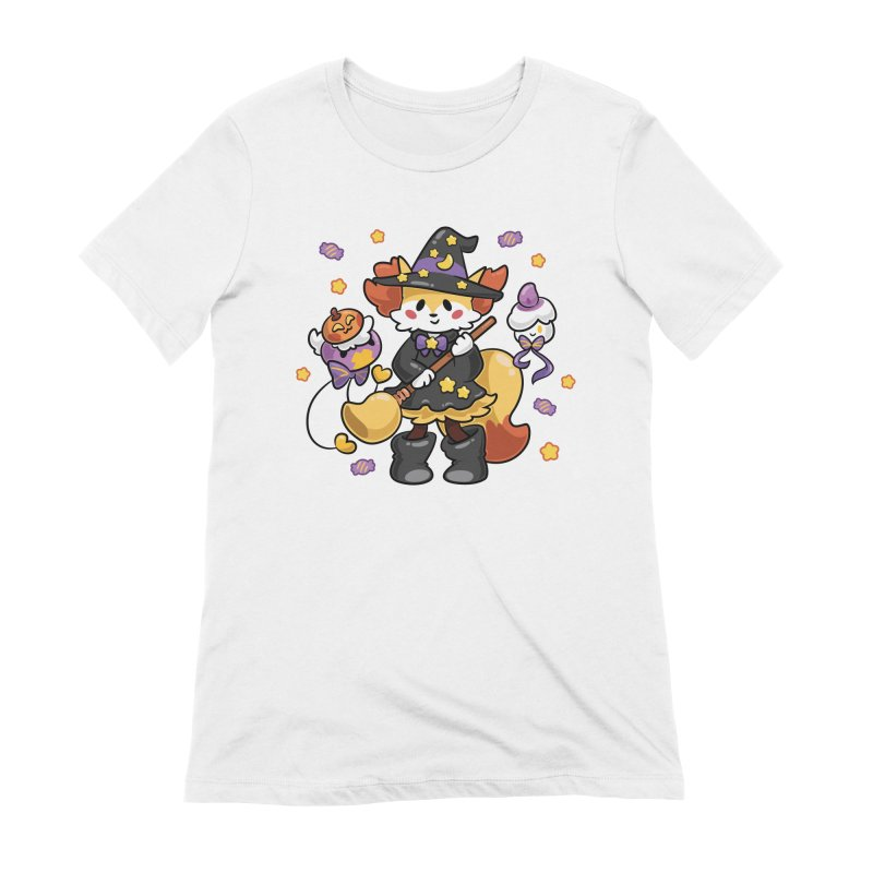 Halloween Ghosts Women's Extra Soft T-Shirt by ZombieMiki's Shirts & Stuff