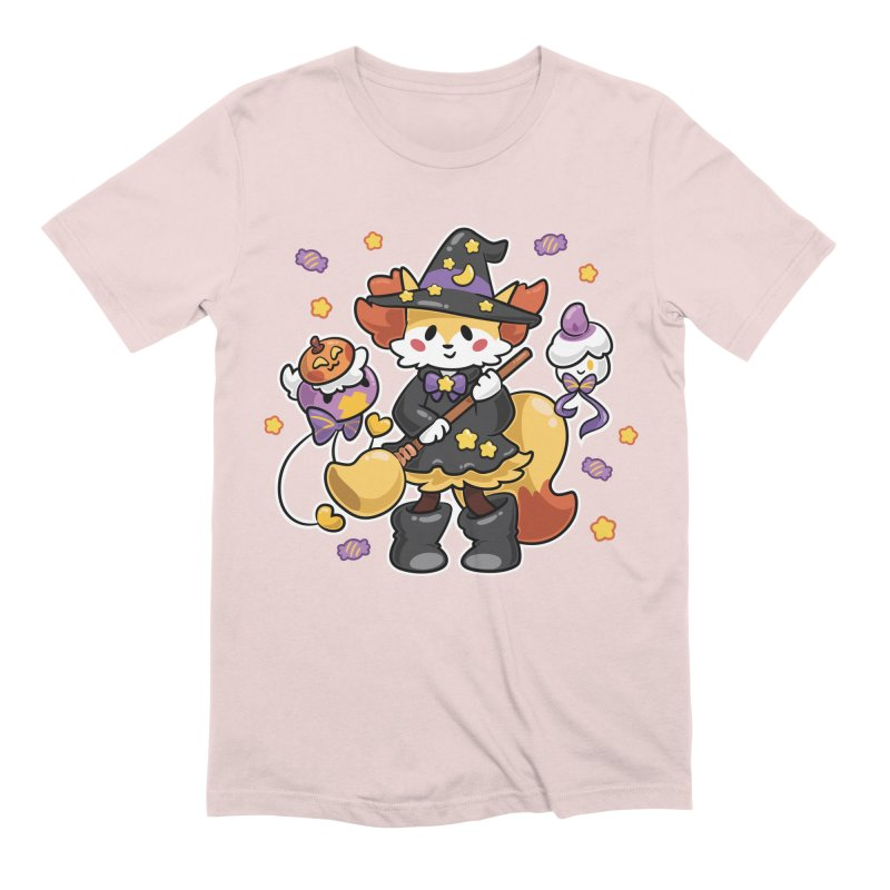 Halloween Ghosts Men's Extra Soft T-Shirt by ZombieMiki's Shirts & Stuff