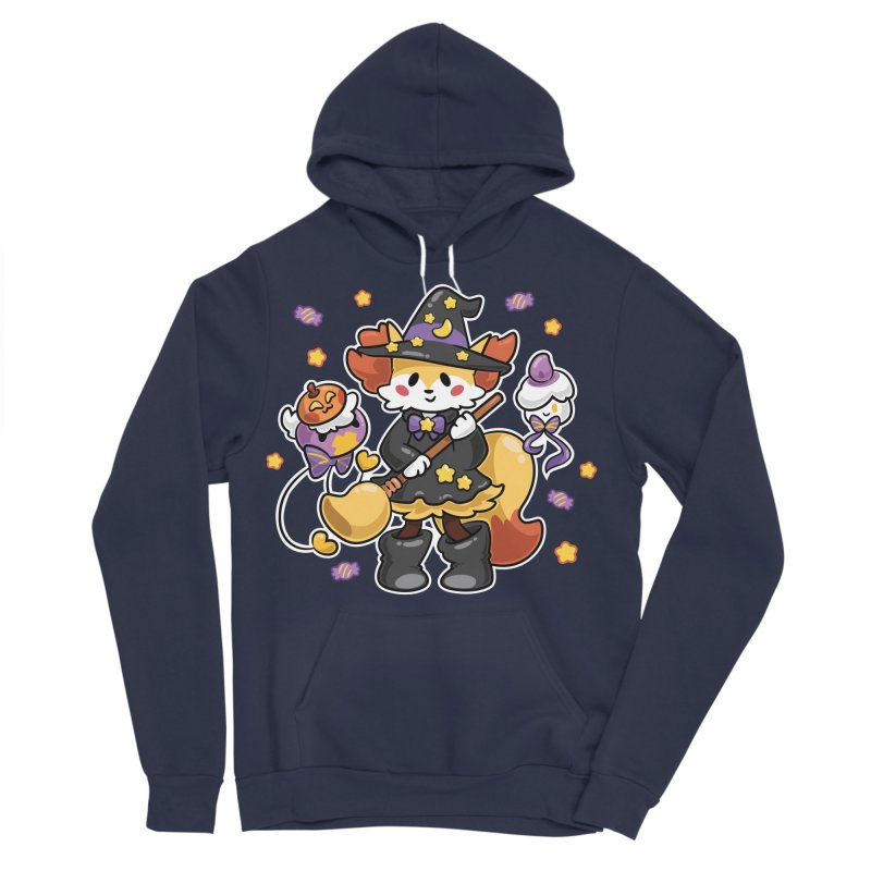 Halloween Ghosts Women's Sponge Fleece Pullover Hoody by ZombieMiki's Shirts & Stuff