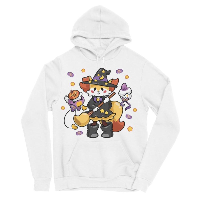Halloween Ghosts Men's Sponge Fleece Pullover Hoody by ZombieMiki's Shirts & Stuff