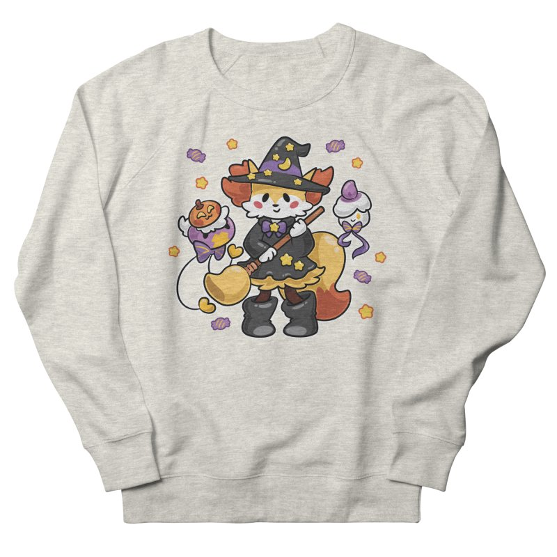 Halloween Ghosts Women's French Terry Sweatshirt by ZombieMiki's Shirts & Stuff