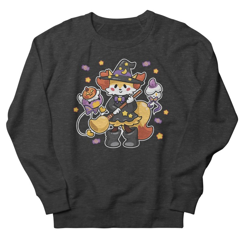 Halloween Ghosts Men's French Terry Sweatshirt by ZombieMiki's Shirts & Stuff