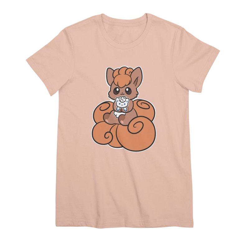 Fox Buddies Women's Premium T-Shirt by ZombieMiki's Shirts & Stuff