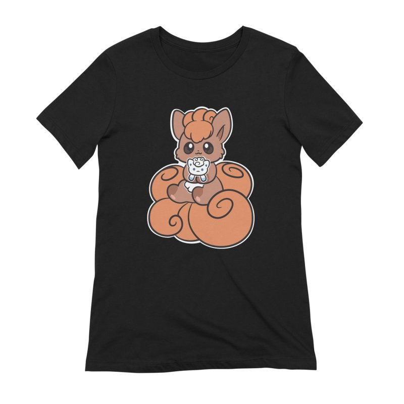 Fox Buddies Women's Extra Soft T-Shirt by ZombieMiki's Shirts & Stuff