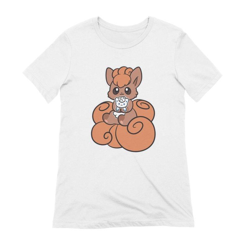 Fox Buddies Women's Extra Soft T-Shirt by ZombieMiki's Shirts & Stuff