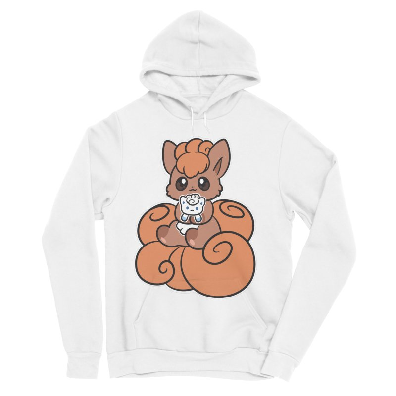 Fox Buddies Women's Sponge Fleece Pullover Hoody by ZombieMiki's Shirts & Stuff