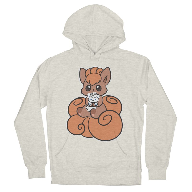 Fox Buddies Women's French Terry Pullover Hoody by ZombieMiki's Shirts & Stuff
