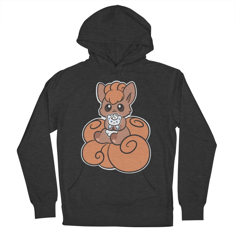 Fox Buddies Men's French Terry Pullover Hoody by ZombieMiki's Shirts & Stuff