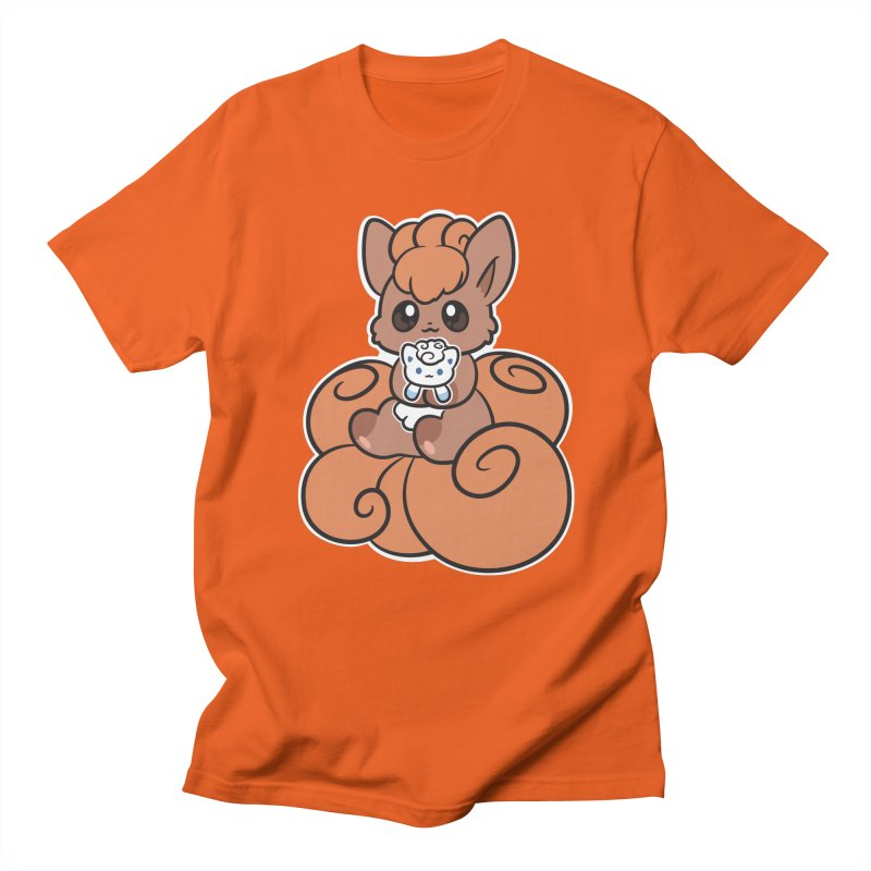 Fox Buddies Women's Regular Unisex T-Shirt by ZombieMiki's Shirts & Stuff