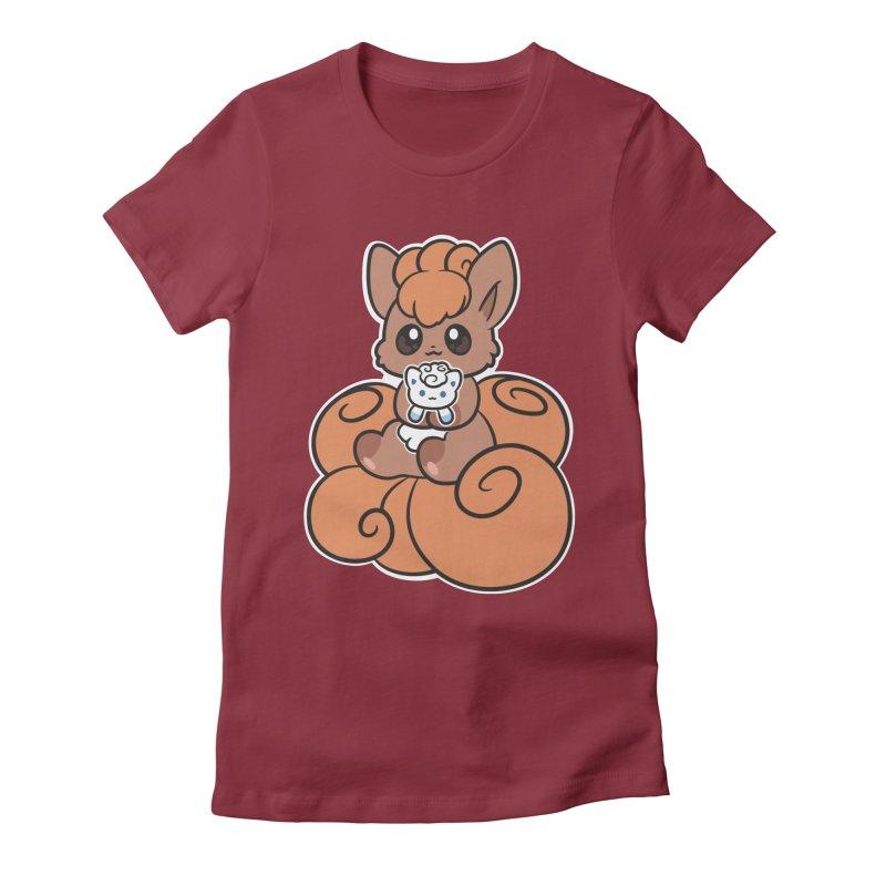 Fox Buddies Women's Fitted T-Shirt by ZombieMiki's Shirts & Stuff