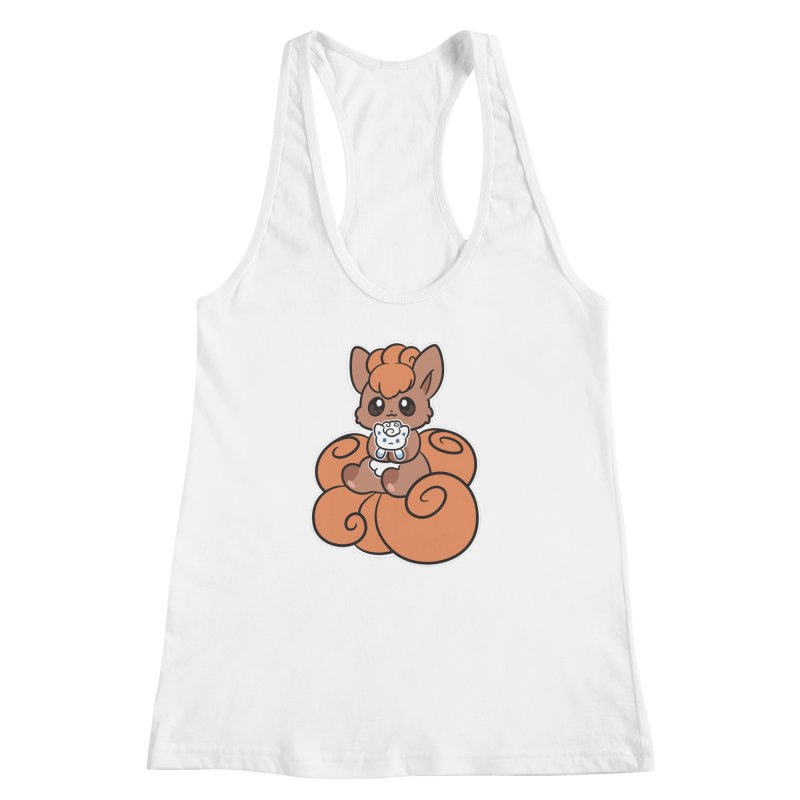 Fox Buddies Women's Racerback Tank by ZombieMiki's Shirts & Stuff