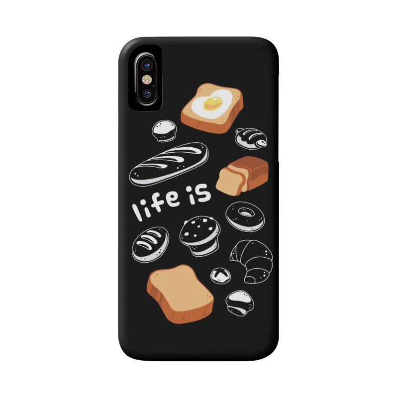 Life is [Pain] Accessories Phone Case by ZombieMiki's Shirts & Stuff