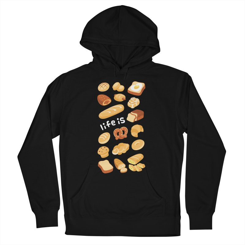 Life is [Pain] Men's Pullover Hoody by ZombieMiki's Shirts & Stuff