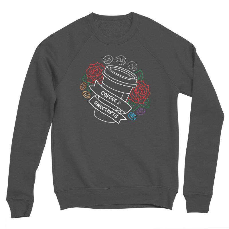 Coffee & Sweetarts Men's Sponge Fleece Sweatshirt by ZombieMiki's Shirts & Stuff