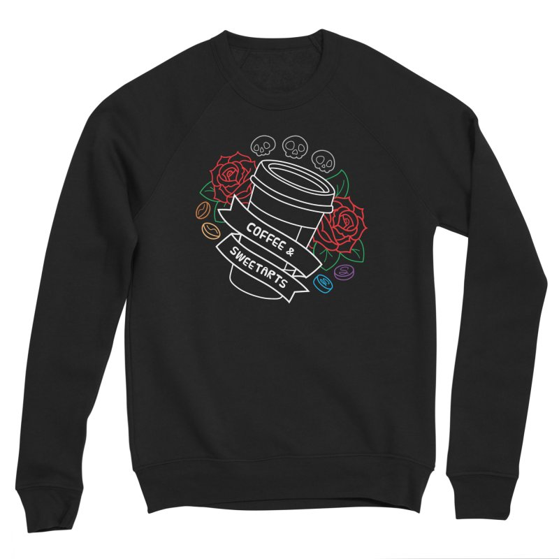 Coffee & Sweetarts Women's Sponge Fleece Sweatshirt by ZombieMiki's Shirts & Stuff