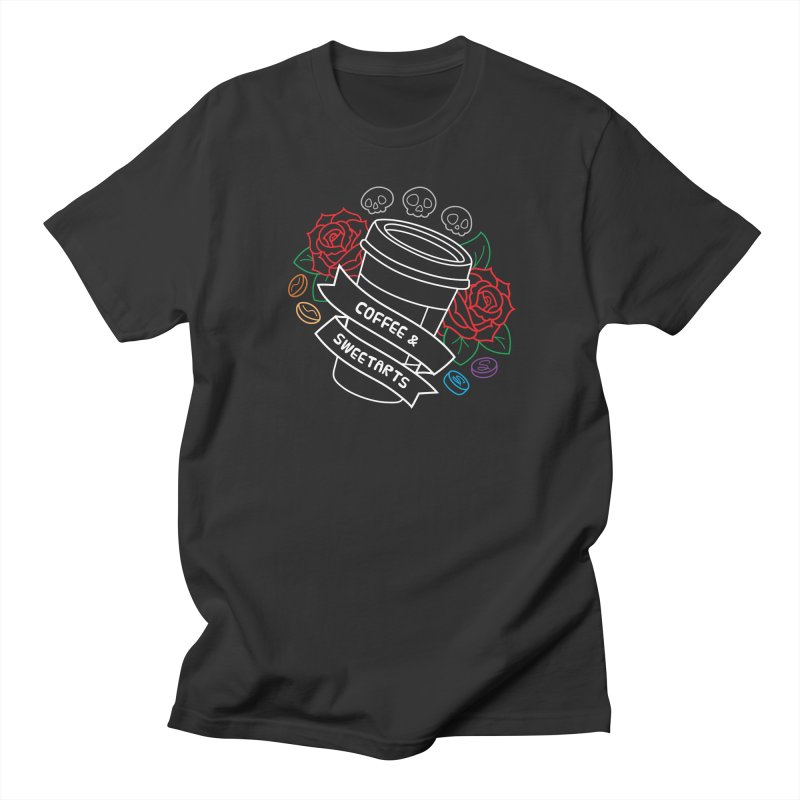 Coffee & Sweetarts Men's Regular T-Shirt by ZombieMiki's Shirts & Stuff