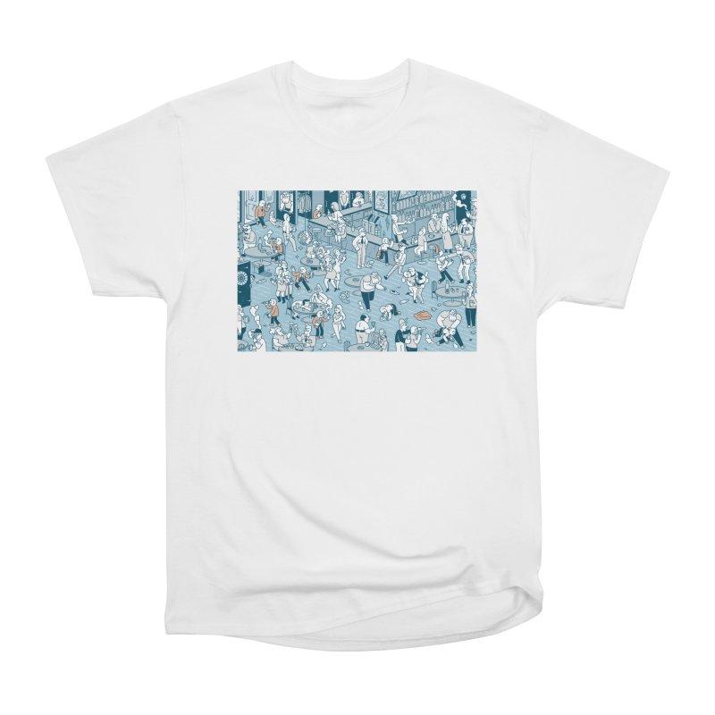 Pub T-shirt Men's Heavyweight T-Shirt by Mikko Saarainen's Artist Shop