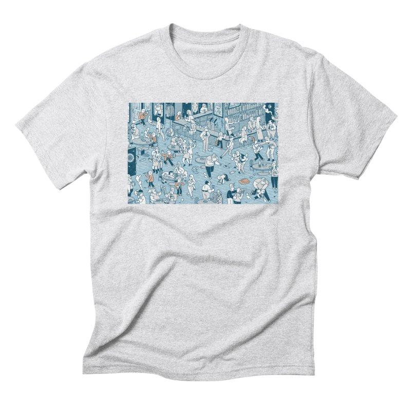 Pub T-shirt Men's Triblend T-Shirt by Mikko Saarainen's Artist Shop