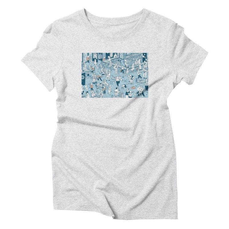 Pub T-shirt Women's Triblend T-Shirt by Mikko Saarainen's Artist Shop