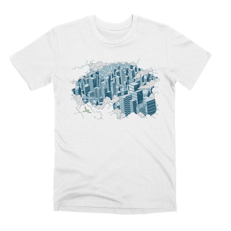 City T-shirt Men's Premium T-Shirt by Mikko Saarainen's Artist Shop