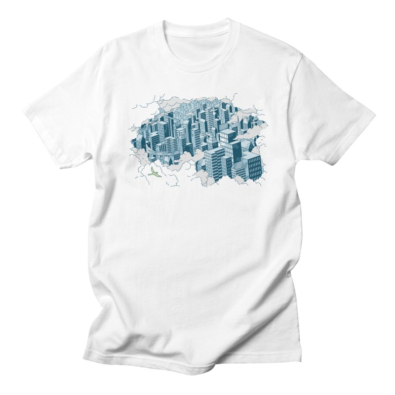 City T-shirt Women's Regular Unisex T-Shirt by Mikko Saarainen's Artist Shop