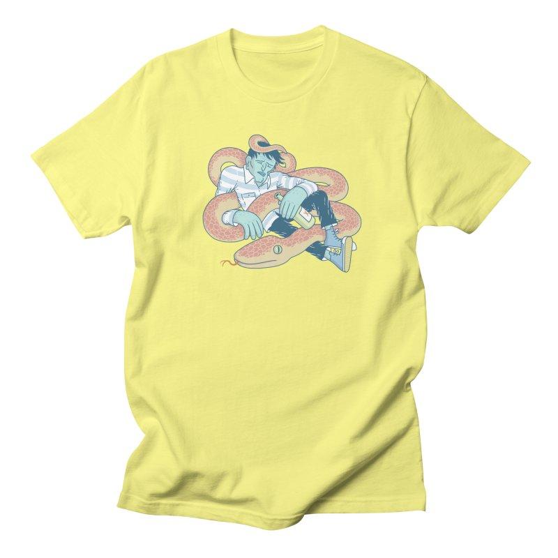 Snake T-shirt Men's T-Shirt by Mikko Saarainen's Artist Shop