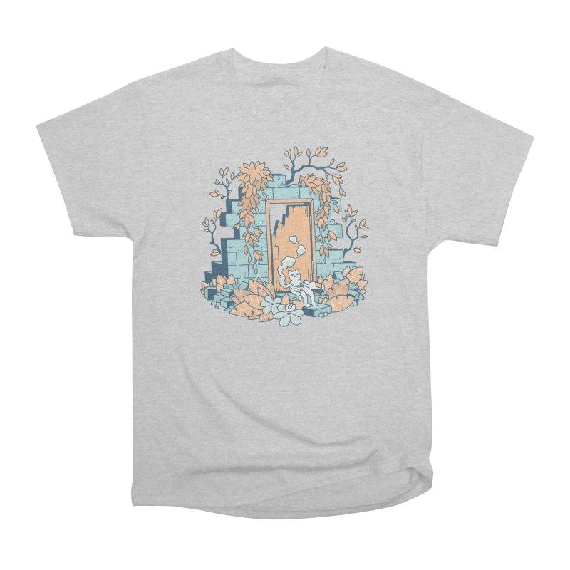 Cat T-shirt Men's Heavyweight T-Shirt by Mikko Saarainen's Artist Shop