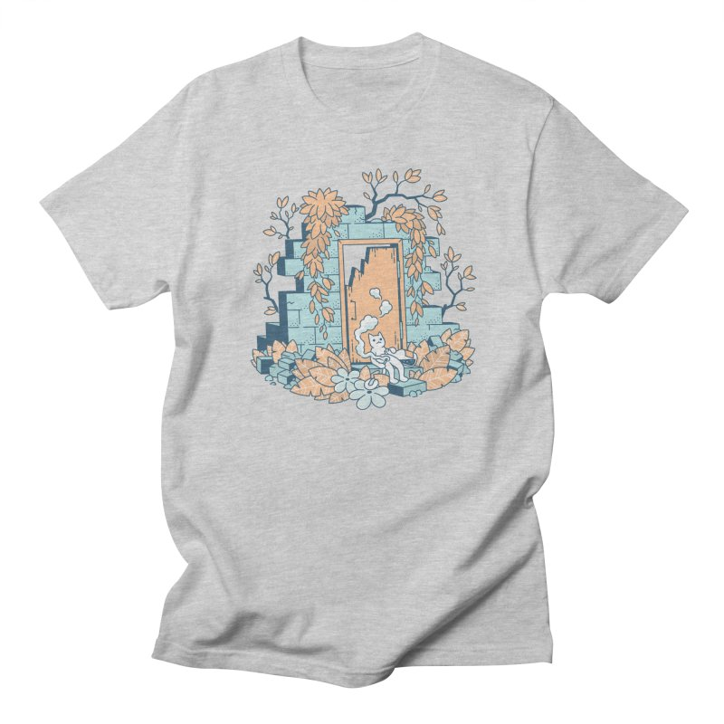 Cat T-shirt Women's Regular Unisex T-Shirt by Mikko Saarainen's Artist Shop