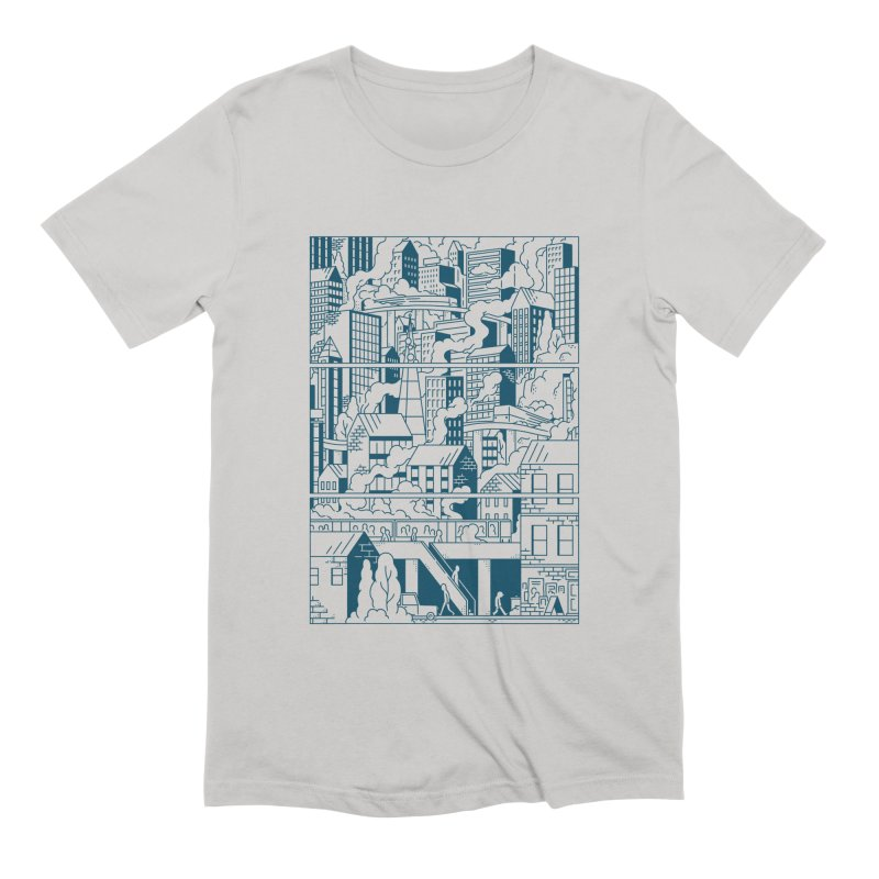 Comic Page T-shirt Men's T-Shirt by Mikko Saarainen's Artist Shop