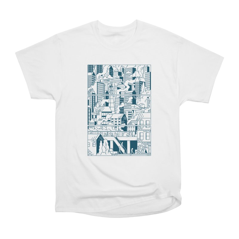 Comic Page T-shirt Women's T-Shirt by Mikko Saarainen's Artist Shop