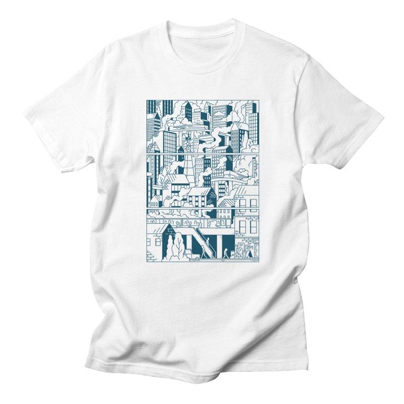 Comic Page T-shirt Men's T-Shirt by Mikko Saarainen's Artist Shop
