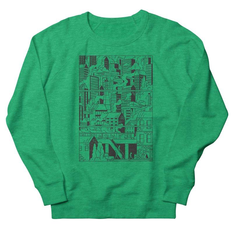 Comic Page Sweatshirt Women's Sweatshirt by Mikko Saarainen's Artist Shop