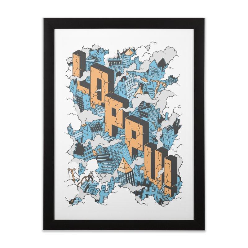Loppu! Wall Art #1 Home Framed Fine Art Print by Mikko Saarainen's Artist Shop