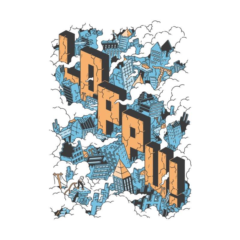 Loppu! Design #1 Men's Zip-Up Hoody by Mikko Saarainen's Artist Shop