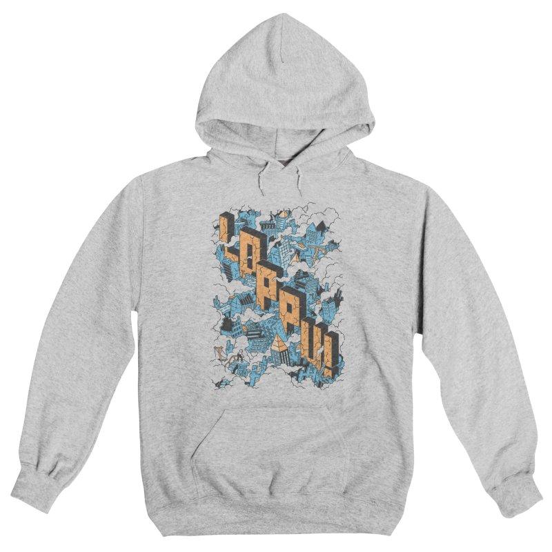 Loppu! Design #1 Men's Pullover Hoody by Mikko Saarainen's Artist Shop